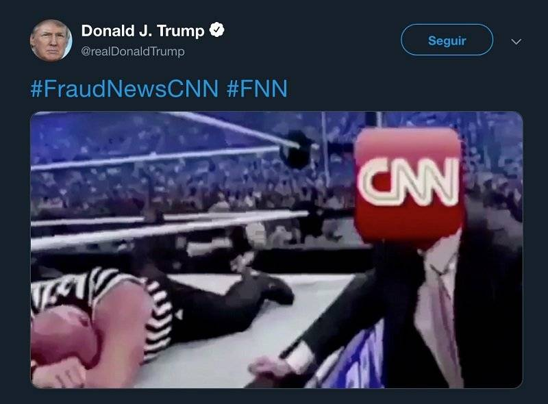 Trump vs. CNN