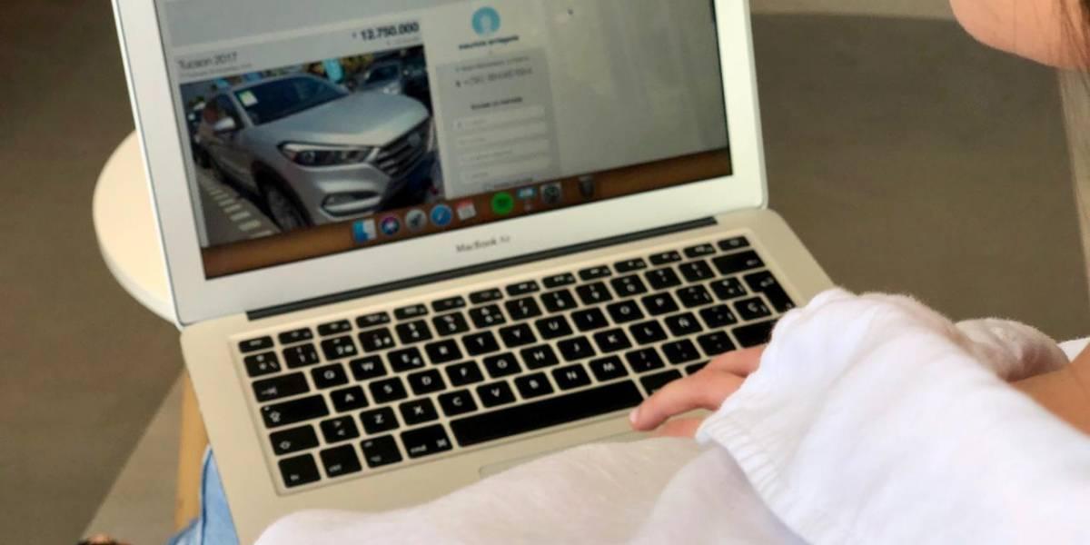 La venta de autos usados comienza a canalizarse por internet