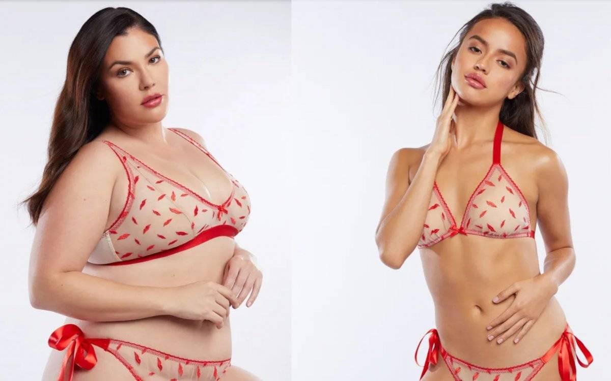 7ecd383d1f56 Critican a Rihanna por su linea XXL de lencería de San Valentín y ...