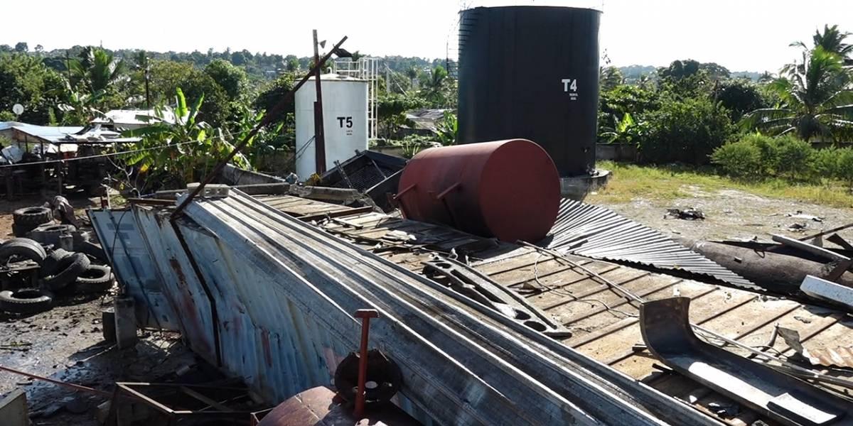 Aumentan a cuatro los muertos por explosión de fábrica en Manoguayabo