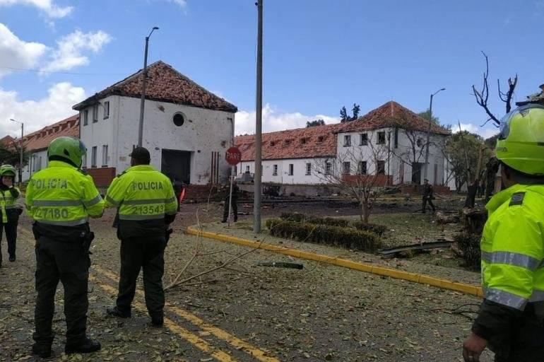 Explosão Academia de Polícia de Bogotá Colômbia