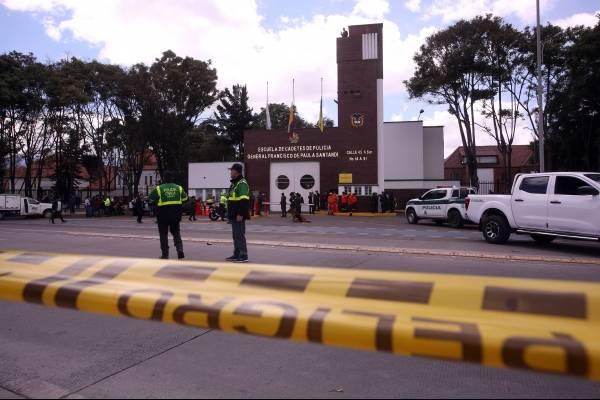 Detalles de la explosión que le robó la calma a Bogotá