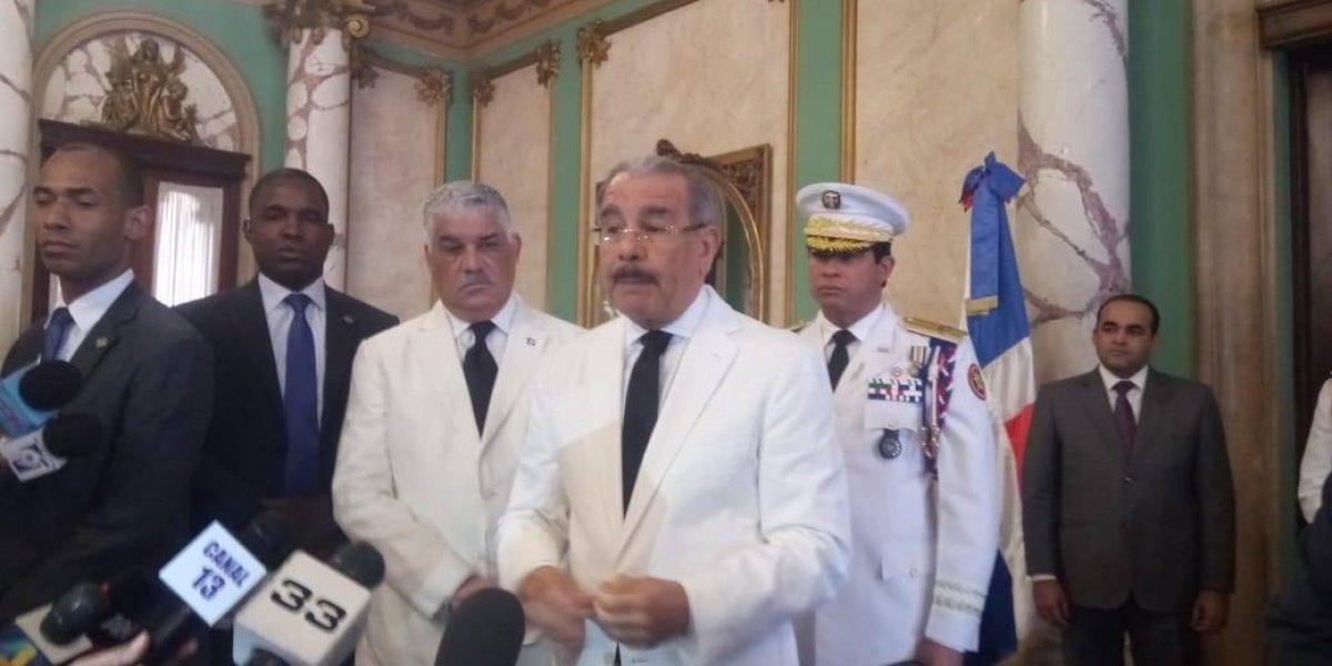 Danilo Medina comparte preocupación por criminalidad en el país