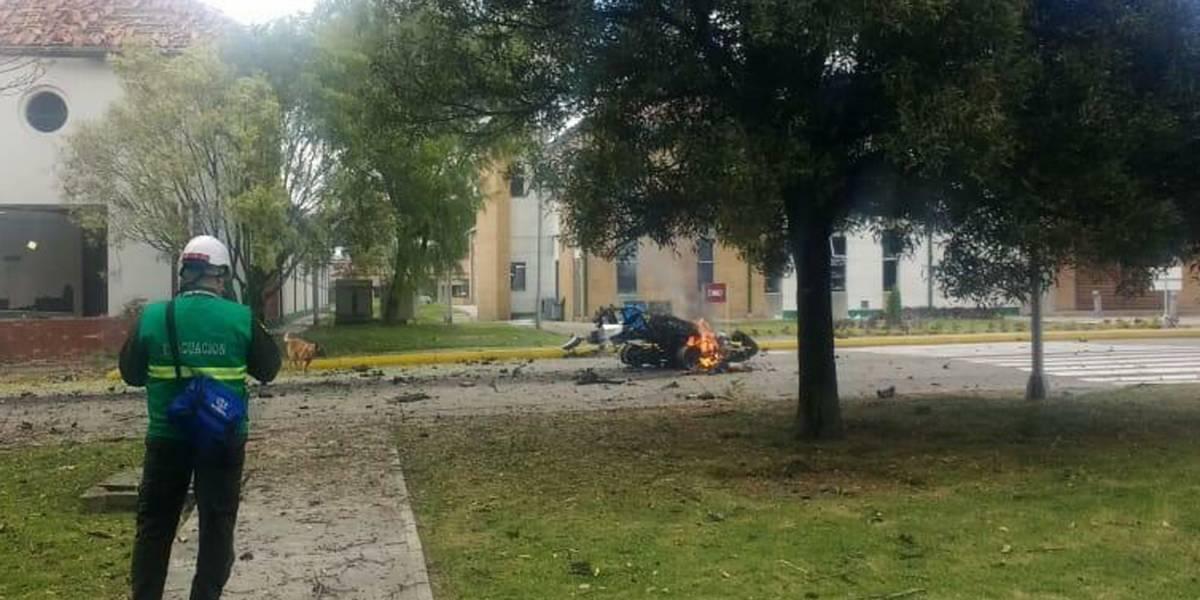 Colombia: Autoridades identifican al autor de la explosión del coche bomba donde murió una ecuatoriana