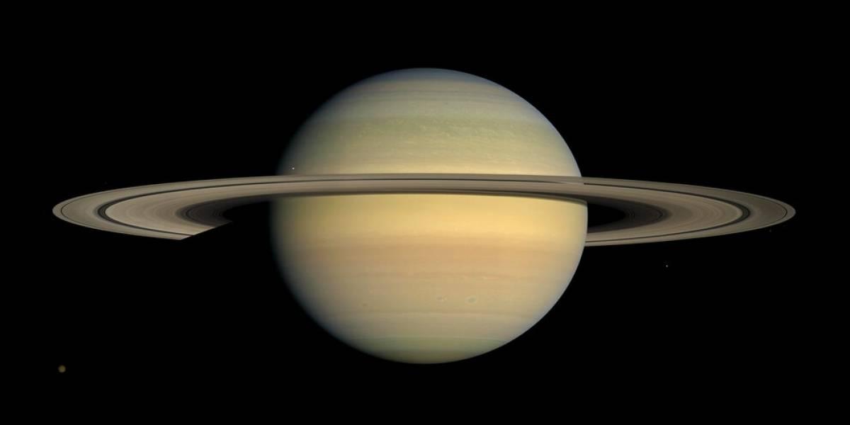 Saturno pasó miles de millones de años sin sus anillos