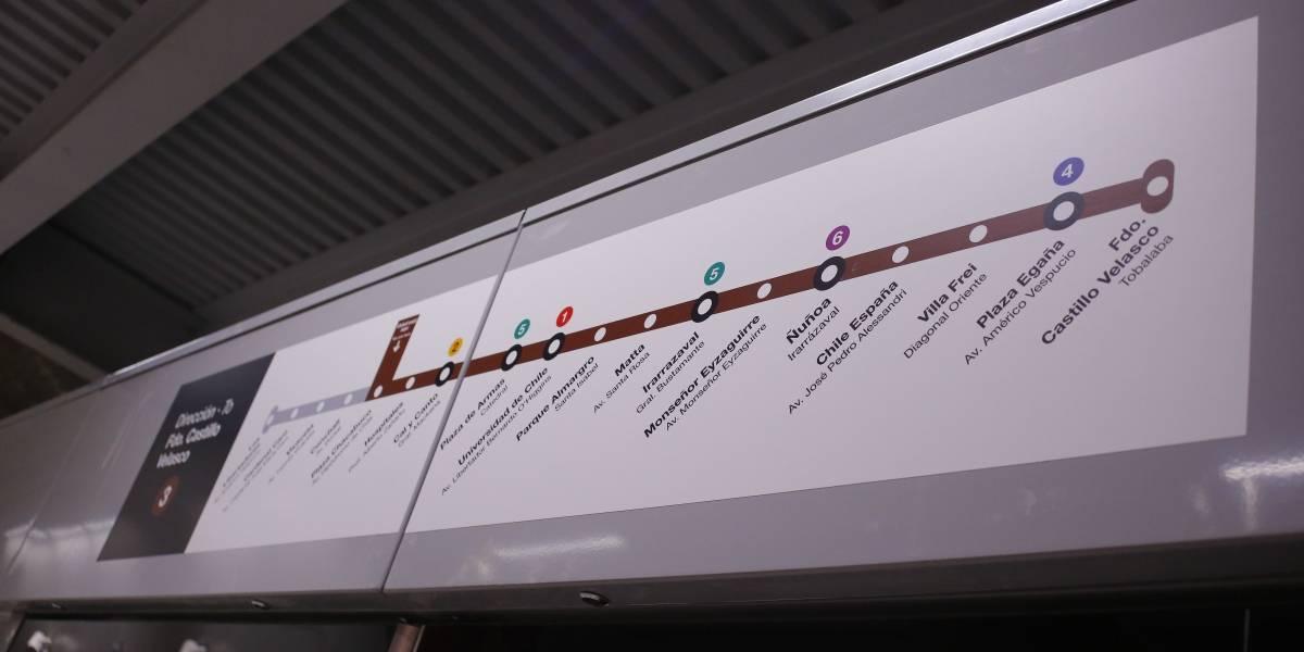 """El """"cierre de puertas"""" de Metro a la estación Eloísa Díaz: """"No está contemplado un cambio de nombre a Hospitales"""""""
