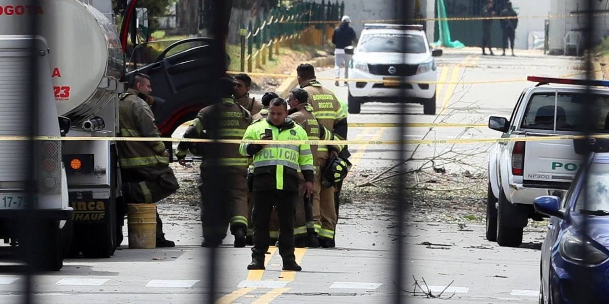 Colombia: Audio revela angustioso momento que vivieron en la Escuela de Policía después del carro bomba