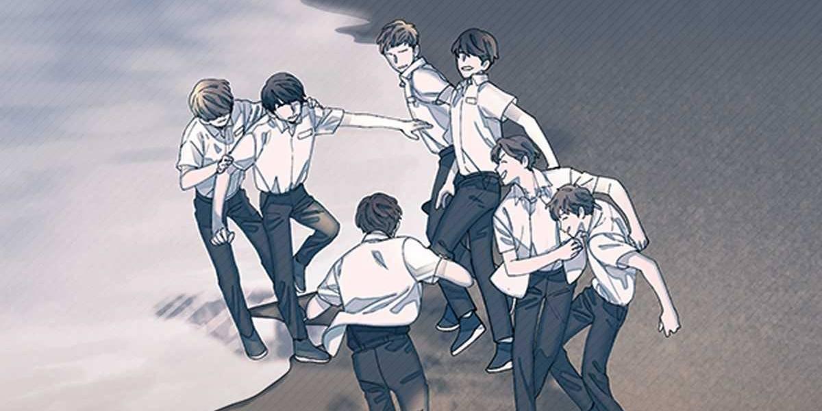Confira agora a versão em quadrinhos do BTS!