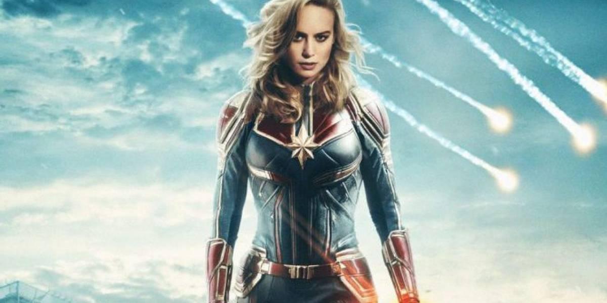 'Capitana Marvel': estos son los nuevos afiches de la esperada película