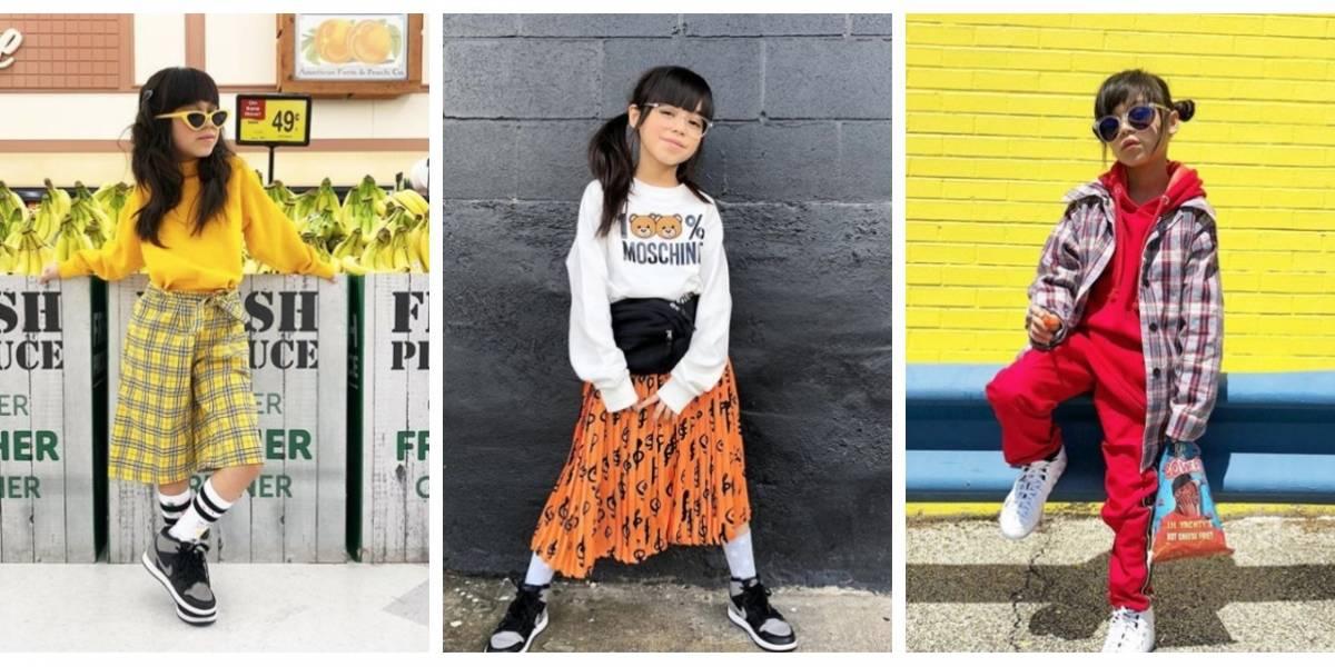 Quién es Giana: la influencer de nueve años que la rompe en internet y firma millonarios contratos con Nike y Louis Vuitton