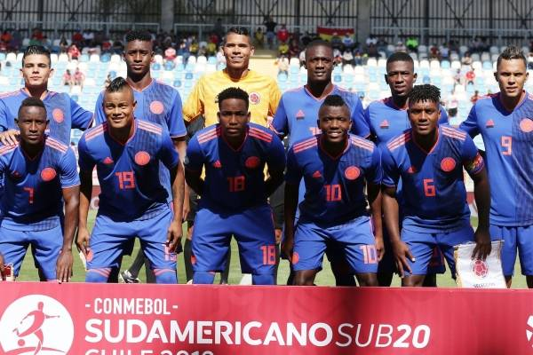 Video de los goles Colombia VS Venezuela Sudamericano Sub 20