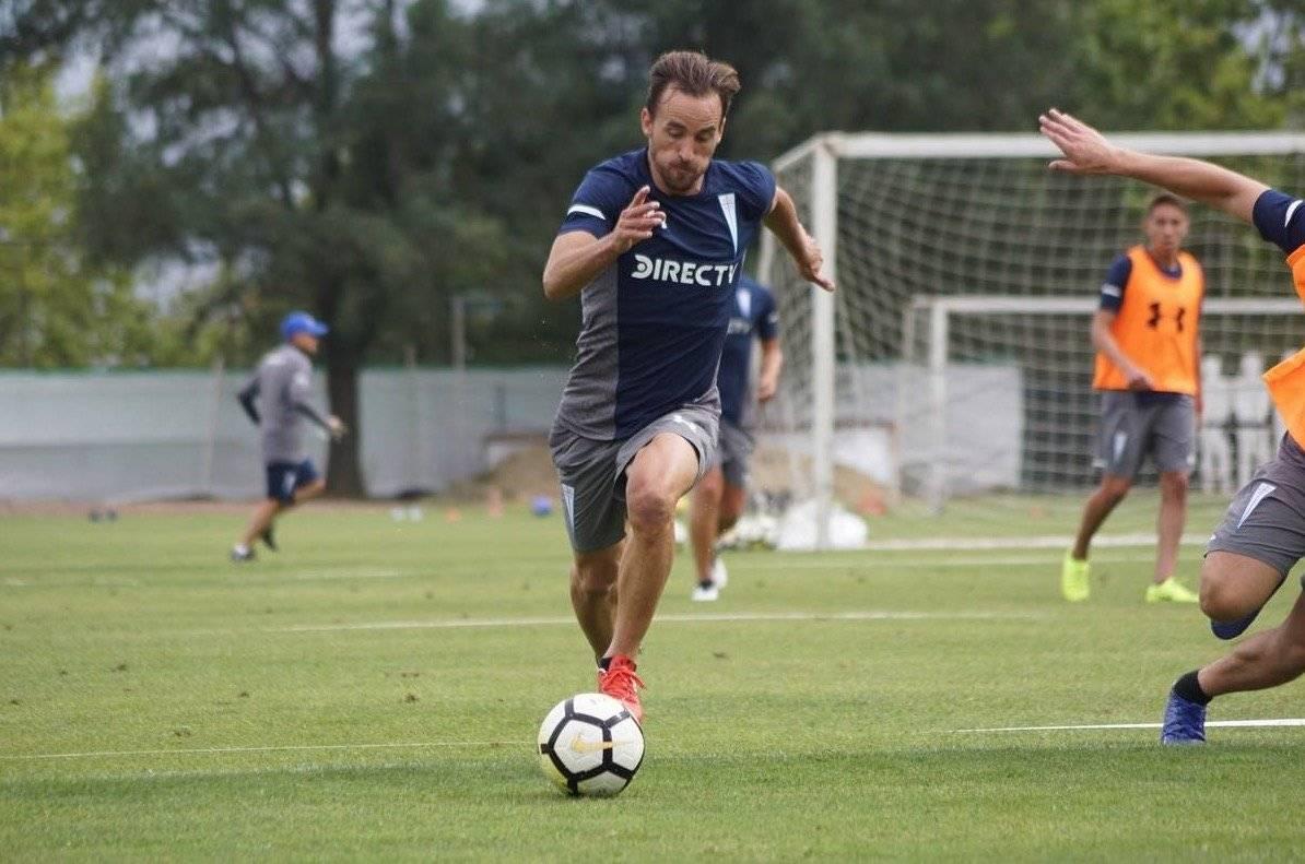 El polifuncional José Pedro Fuenzalida se proyecta para jugar como volante o extremo derecho en la UC 2019 / Foto: cruzados.cl