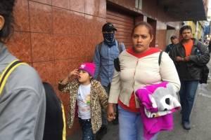 Caravana de migrantes para por Guatemala.