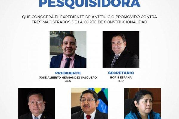 Comisión pesquisidora contra magistrados CC