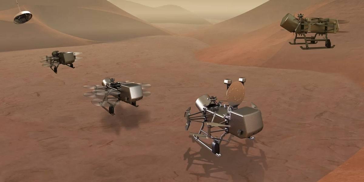 Dragonfly: la misión de la NASA que quiere mandar drones hacia Saturno en 2019
