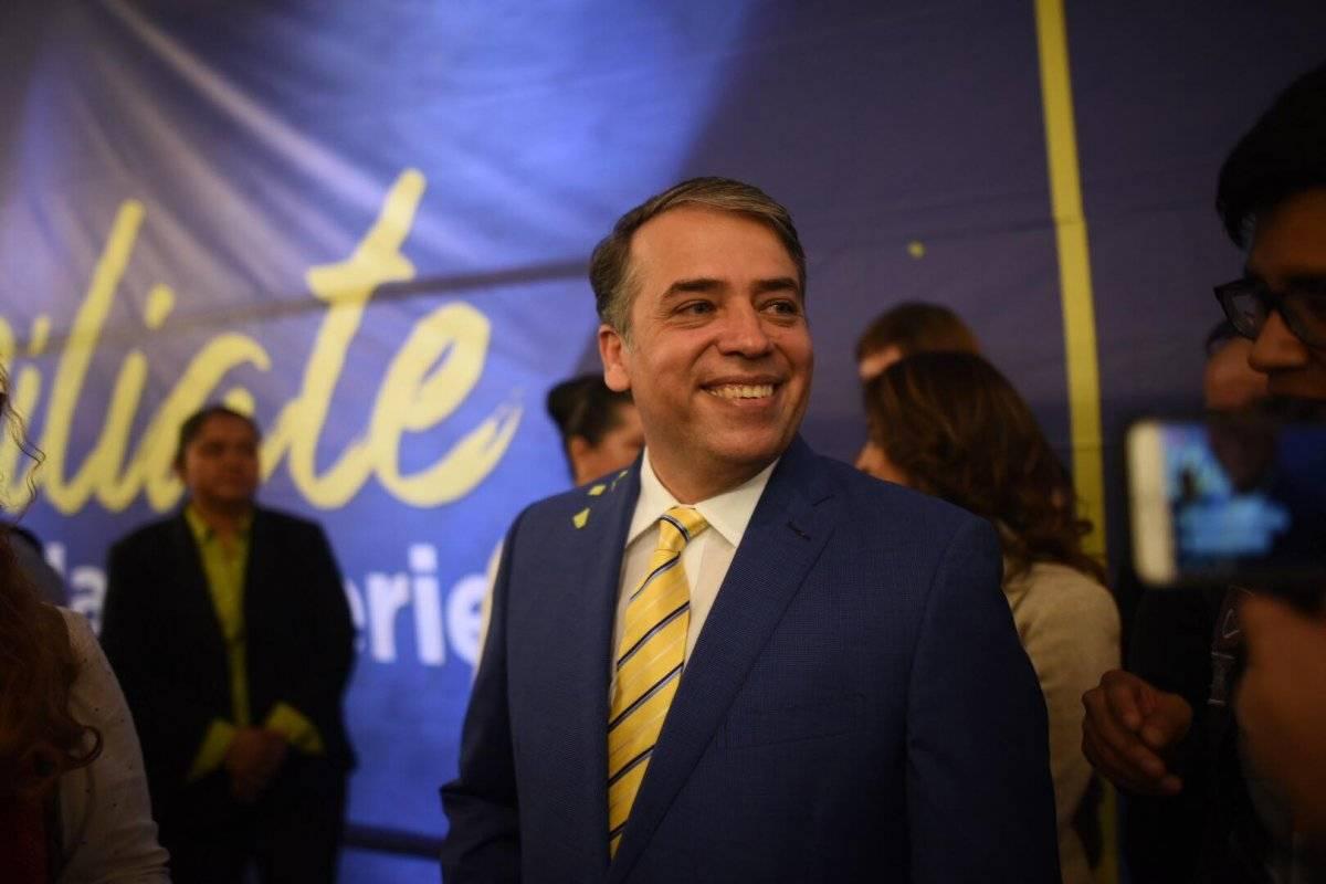 Edwin Escobar es proclamado como candidato presidencial del partido Prosperidad Ciudadana. Foto: Edwin Bercián