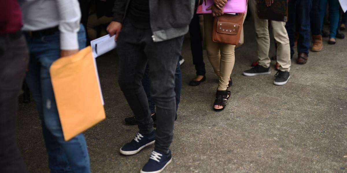Anuncian ferias de empleo en la capital y Villa Nueva