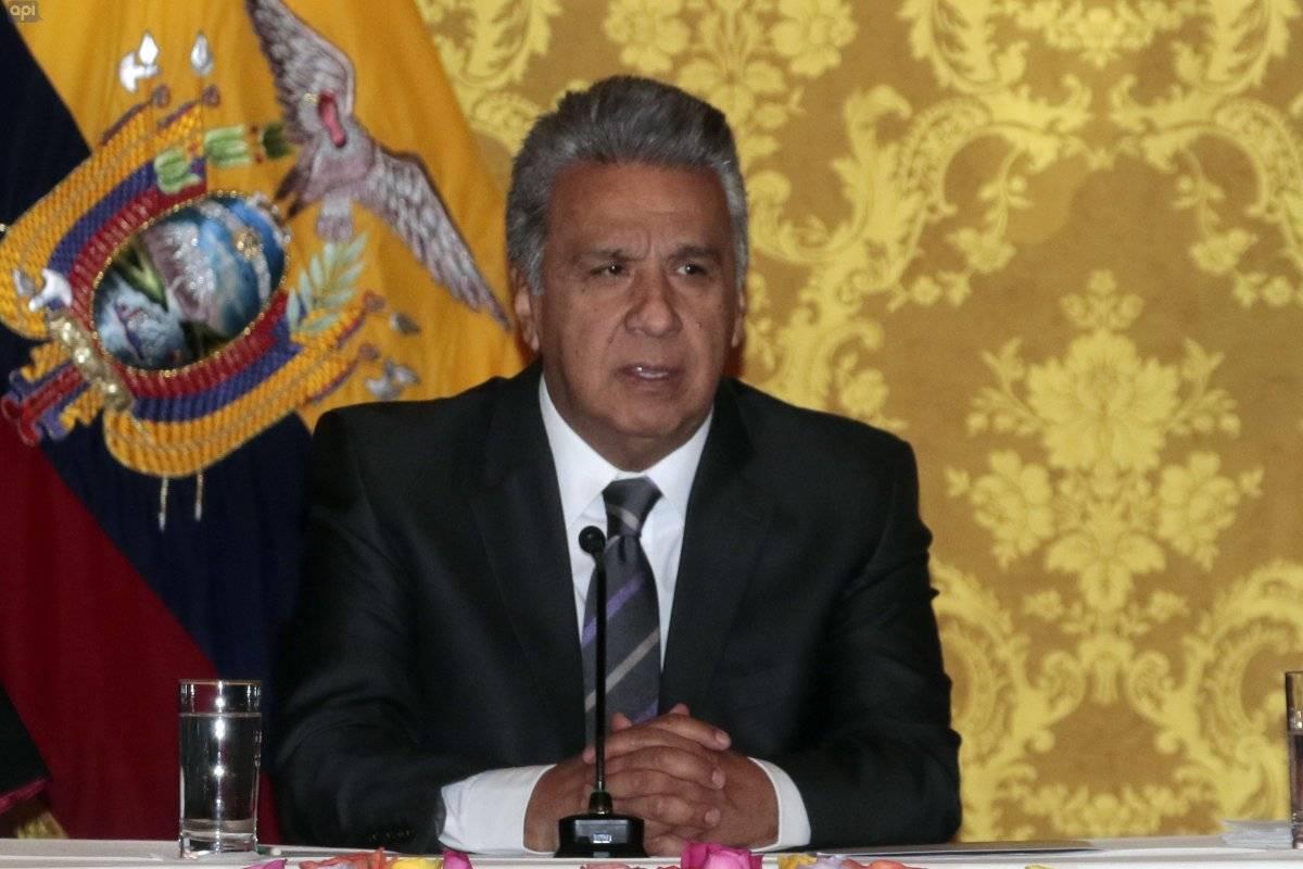 Lenín Moreno aseguró que su gobierno apoya a detectar rutas de corrupción