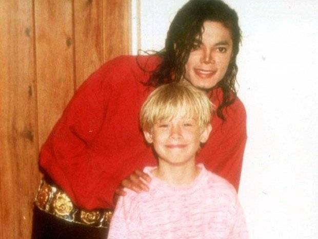 Macaulay Culkin y Michael Jackson
