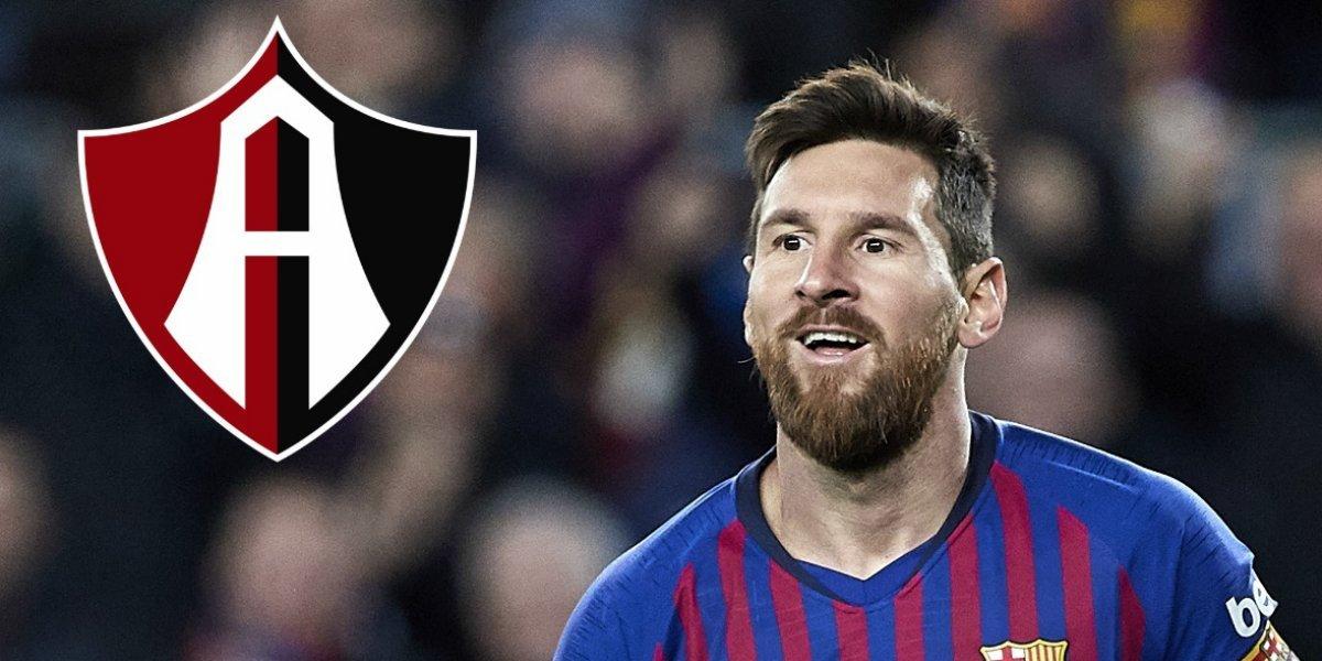 Atlas, en la mira de Lionel Messi