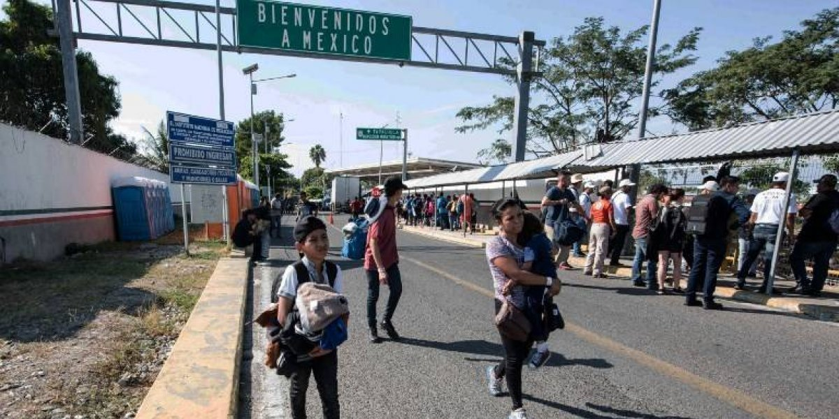 Más de dos mil migrantes solicitan tarjeta de visitante