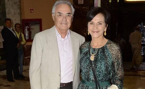 Pati Chapoy y su esposo