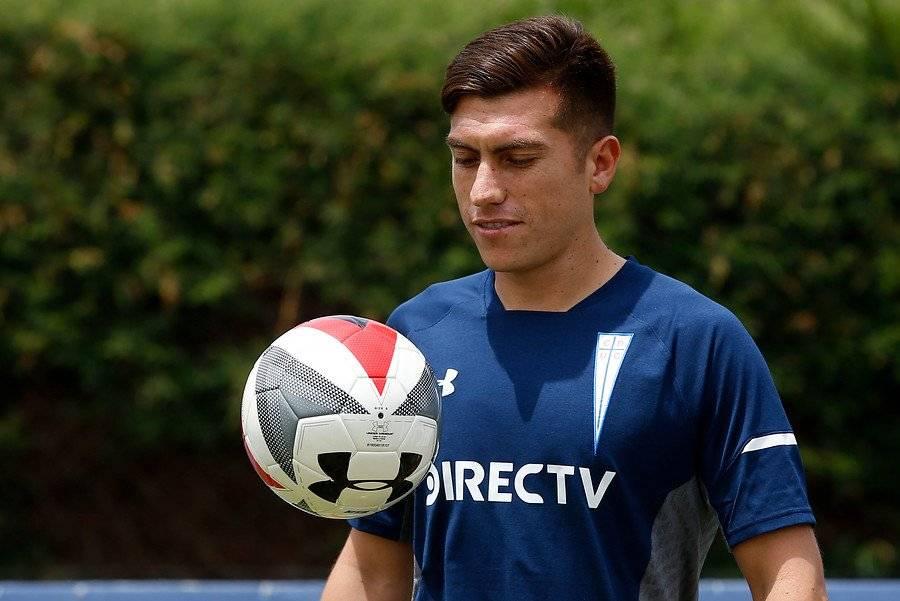 Juan Cornejo será el lateral izquierdo titular de la UC en 2019 / Foto: Photosport