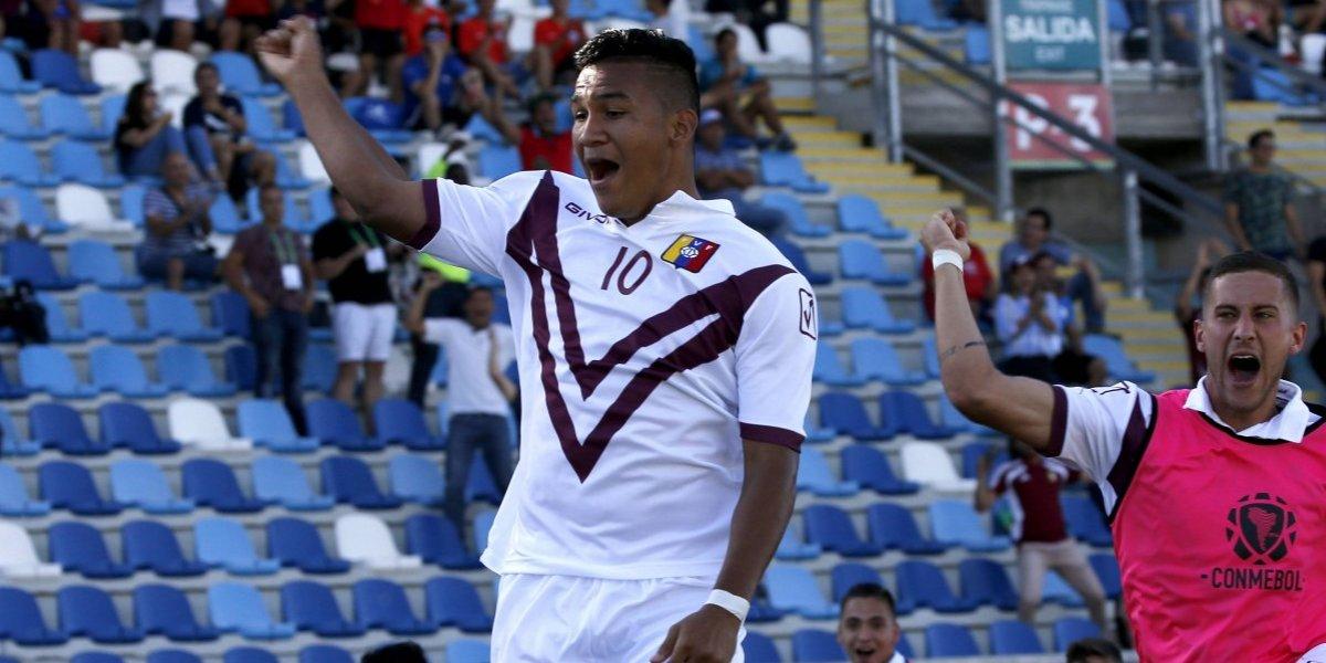 Venezuela sigue demostrando que tiene categoría juvenil y venció a Colombia en el inicio del Sudamericano Sub 20