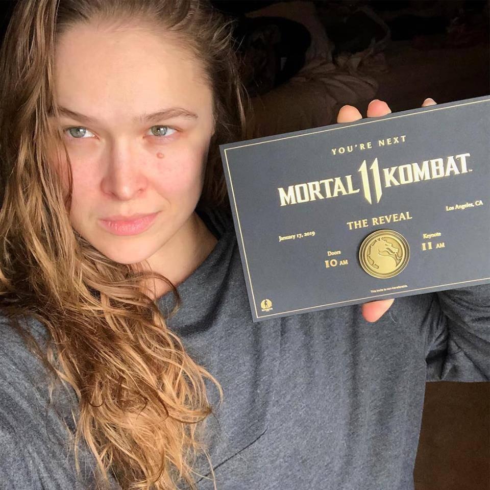 Confirmado: Ronda Rousey será Sonya Blade en Mortal Kombat 11