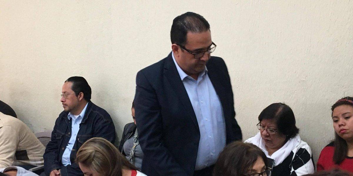 """Samuel Morales evita pronunciarse sobre expulsión de CICIG del juicio en su contra y asegura: """"la verdad nos hará libres"""""""