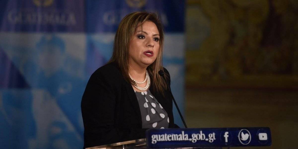 Sandra Jovel, canciller de Guatemala Foto: Edwin Bercián
