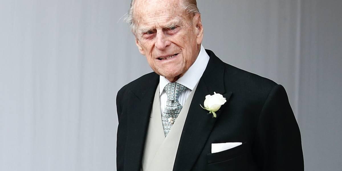 El esposo de la reina Isabel II sufre un accidente automovilístico