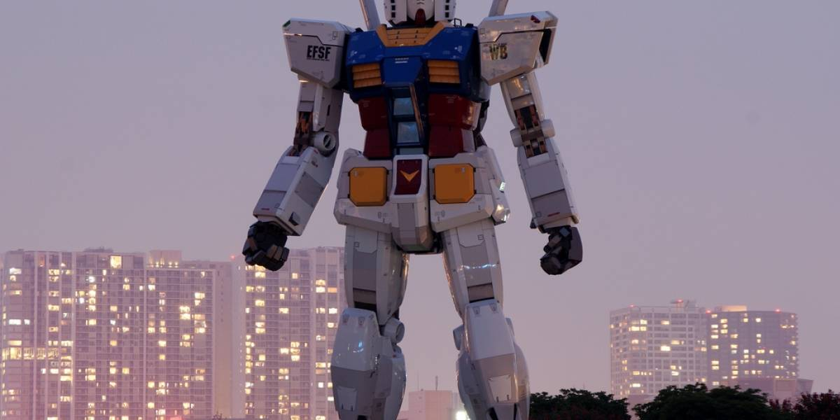 Japón: Dos empleados hacen fraude usando al robot gigante Gundam