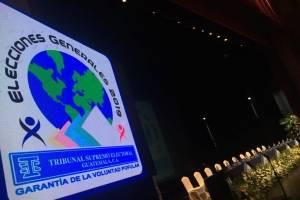 Acto de convocatoria a elecciones generales 2019.