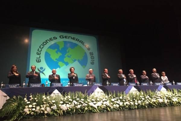 acto de convocatoria a elecciones generales 2019