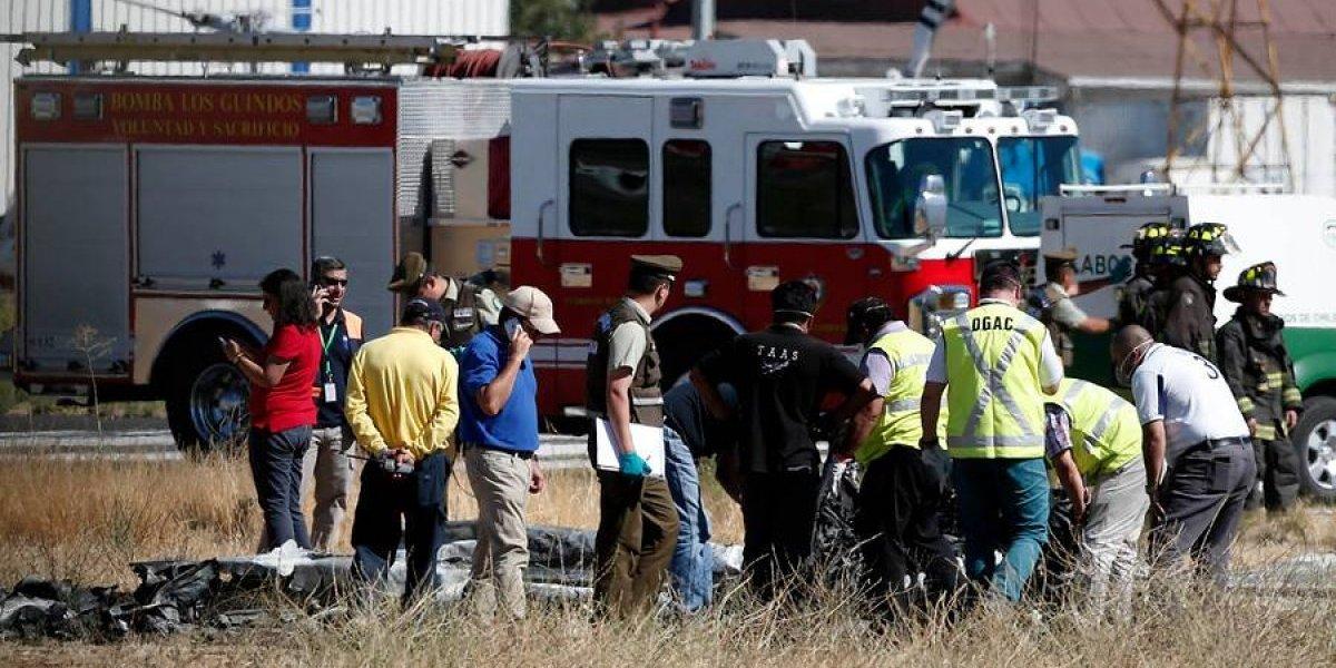 Avión que capotó en Tobalaba: revelan que quemaduras de uno de los tripulantes lo tienen en riesgo vital