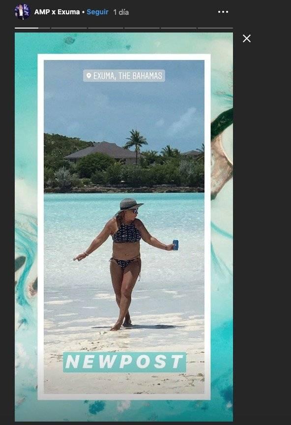 La doctora Polo estremeció las redes sociales al mostrarse en bikini Instagram