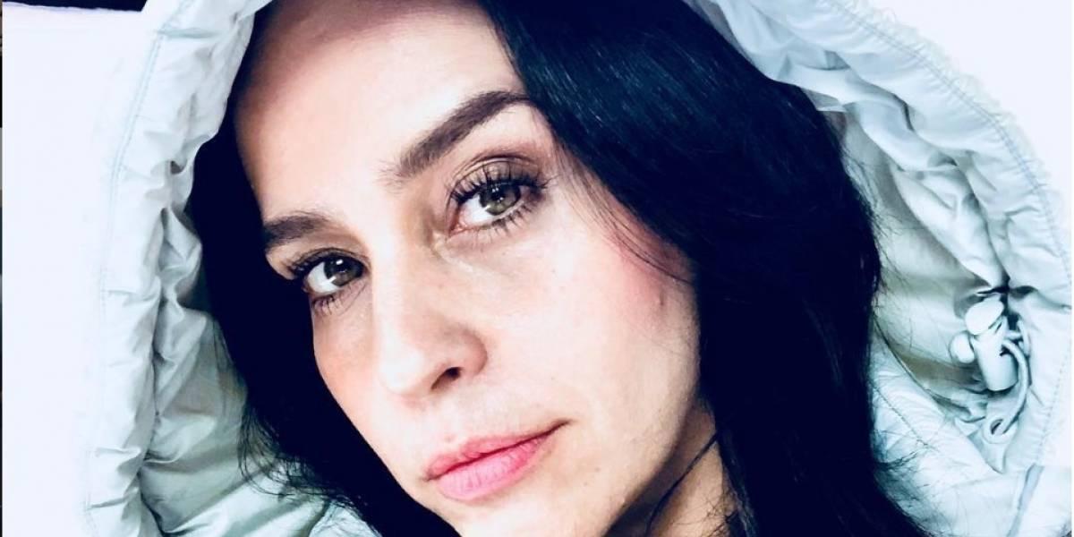 Actriz Diana Ángel habla del estado de salud de su hijo