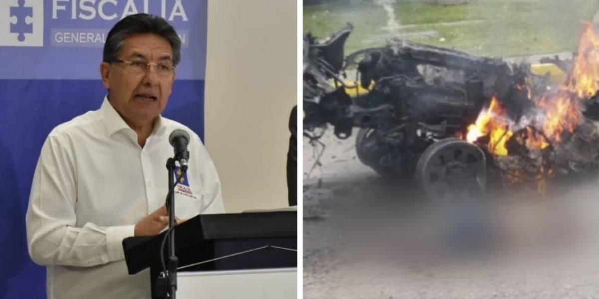 El indirectazo del fiscal a quienes dudan de su investigación sobre el carro bomba