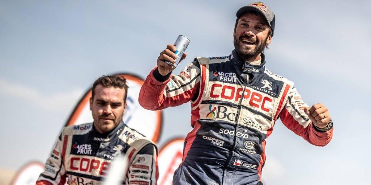 """""""Chaleco"""" López grita por fin campeón en el Dakar 2019"""