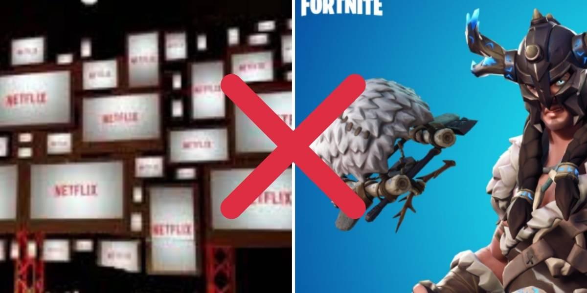 Disputa de gigantes! Fortnite seria o grande rival da Netflix