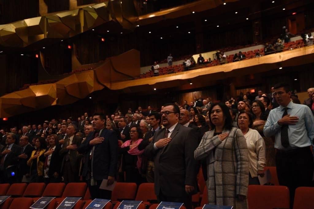 TSE inaugura el proceso electoral en Guatemala. Foto: Omar Solís