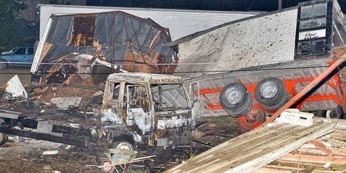 Suben a cinco los muertos por explosión de empresa recicladora de aceite en SDO