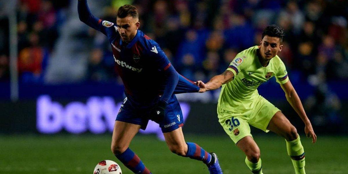 Desestiman queja de Levante y el Barcelona de Vidal sigue firme en la Copa del Rey