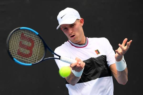 Jarry volvió a la acción en el ATP Tour