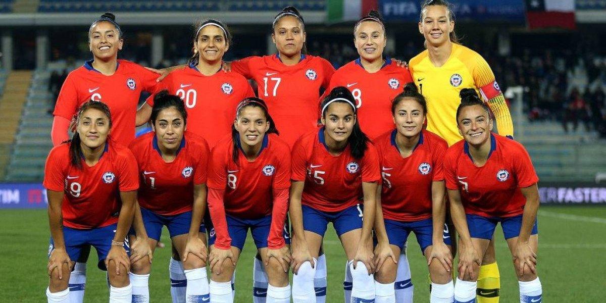 La Roja femenina sufrió en los últimos minutos y cayó ante Italia en su preparación para el Mundial