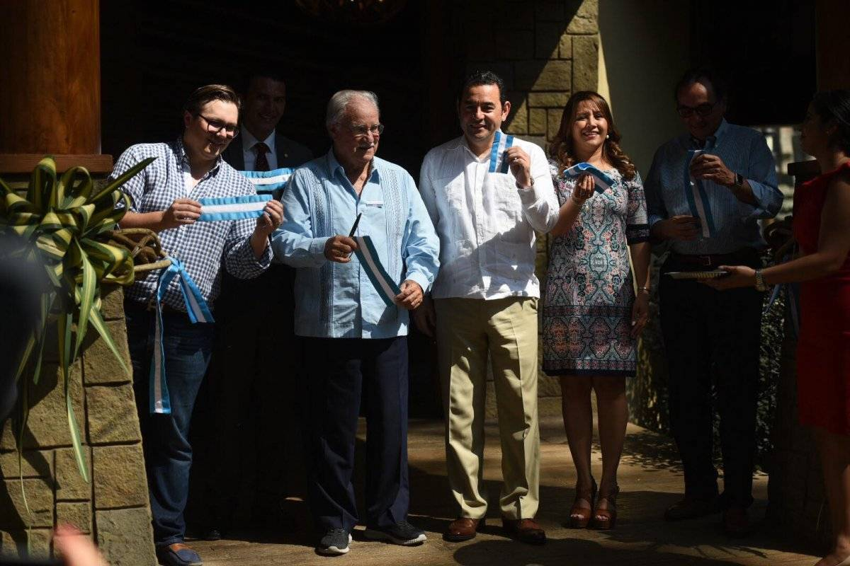 Jimmy Morales inauguración IRTRA