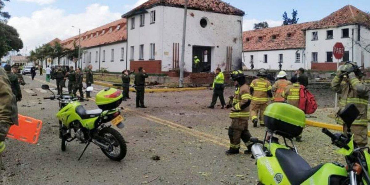 """""""Miserable ataque terrorista"""" en Bogotá"""