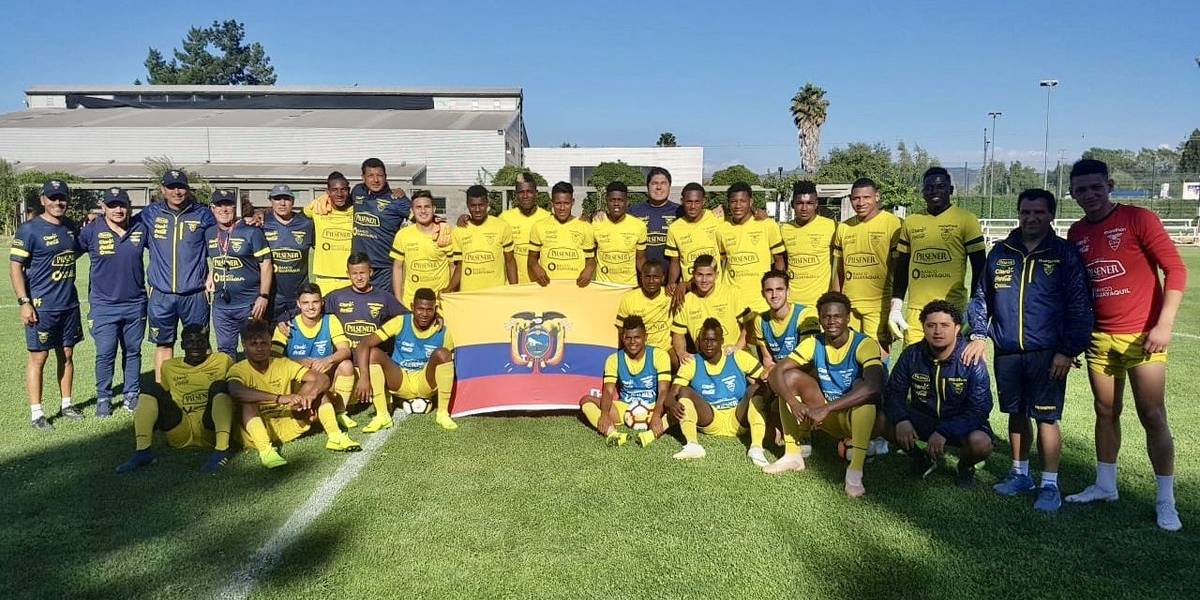 Sudamericano Sub 20: Ecuador ganó a Paraguay 3 -0