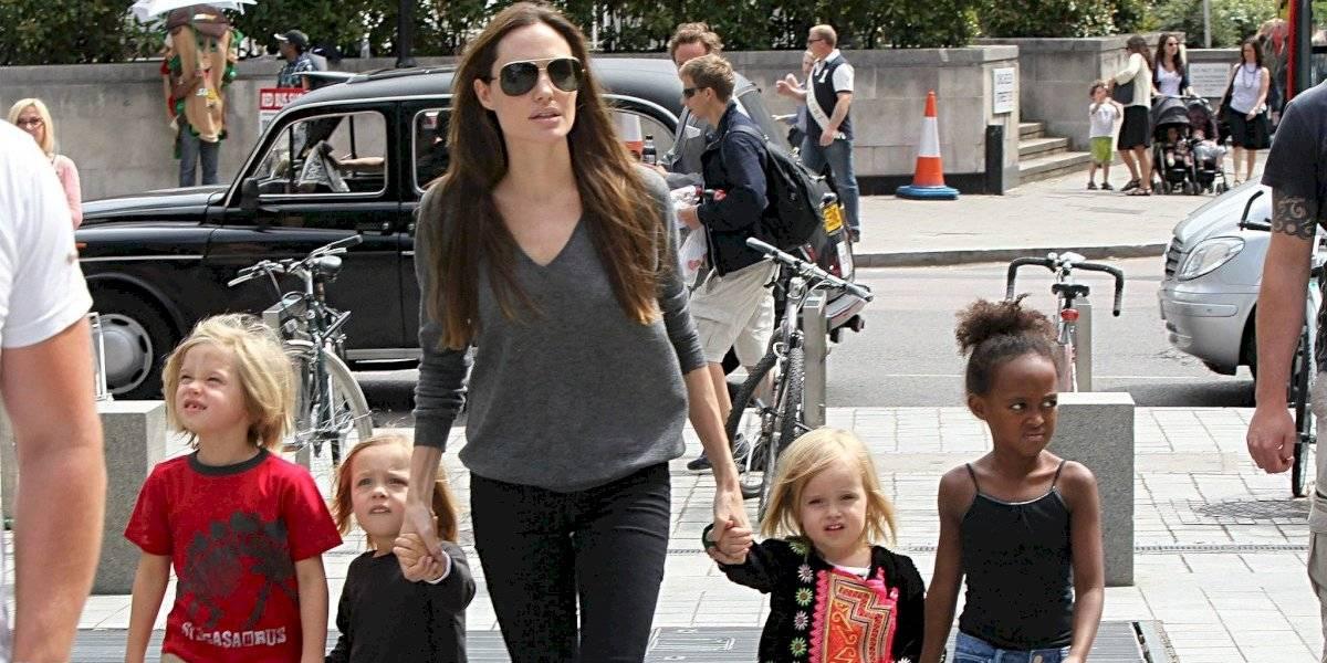 Con un look varonil, Shiloh Jolie-Pitt acude al estreno de Maléfica